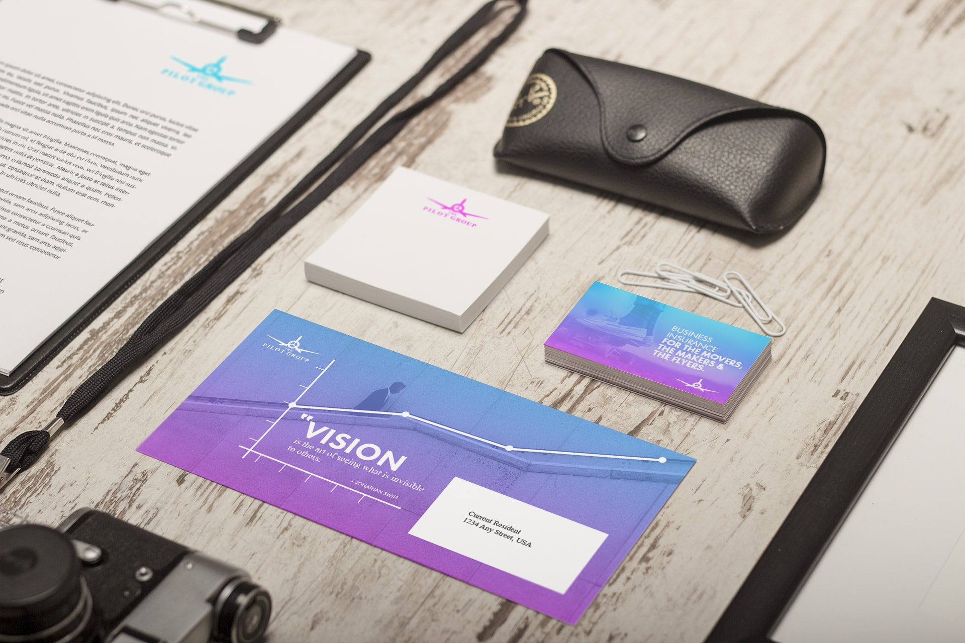 Business card, letterhead, envelope and stationery design by Chris Nunn, design strategist, Atlanta, Conyers, GA